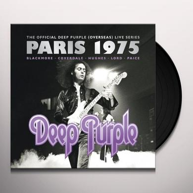 Deep Purple PARIS 1975 Vinyl Record - UK Import