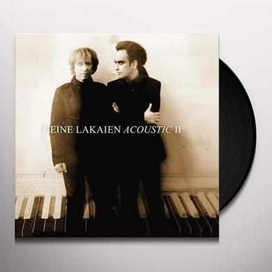 DEINE LAKAIEN ACOUSTIC II (GER) Vinyl Record