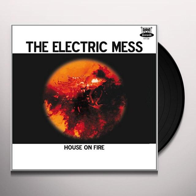 ELECTRIC MESS HOUSE ON FIRE (GER) Vinyl Record