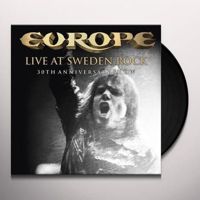 Europe LIVE AT SWEDEN ROCK-30TH ANNIVERSARY SHOW Vinyl Record - Anniversary Edition
