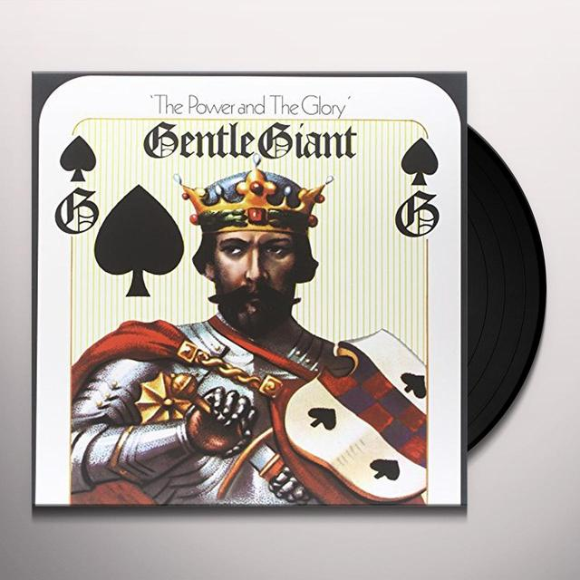 Gentle Giant POWER & GLORY (GER) Vinyl Record