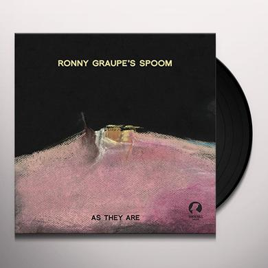 Ronny Graupe AS THEY ARE Vinyl Record