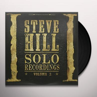 Steve Hill SOLO RECORDINGS 2 Vinyl Record - Canada Import