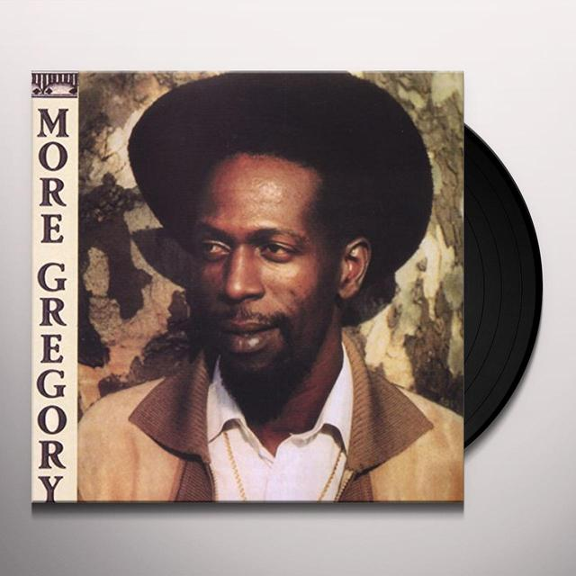 Gregory Isaacs MORE GREGORY Vinyl Record - Canada Import