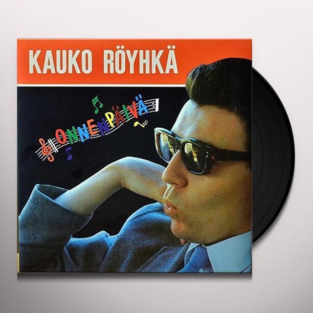 KAUKO ROEYHKAE ONNENPAEIVAE Vinyl Record