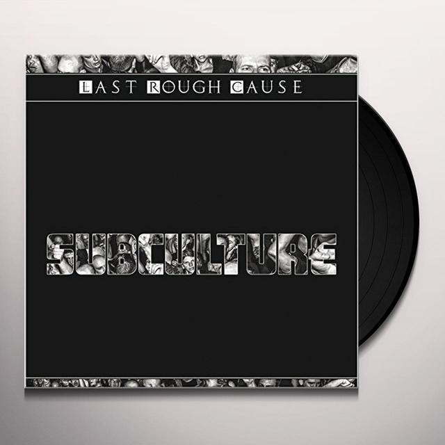 LAST ROUGH CAUSE SUBCULTURE Vinyl Record