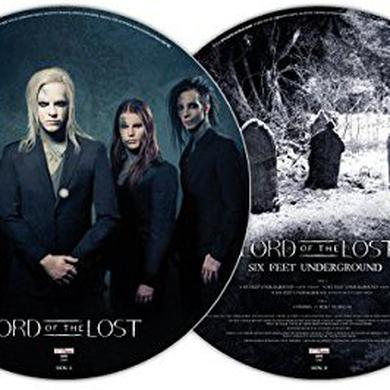 LORD OF THE LOST SIX FEET UNDERGROUND Vinyl Record