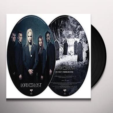 LORD OF THE LOST SIX FEET UNDERGROUND (GER) Vinyl Record