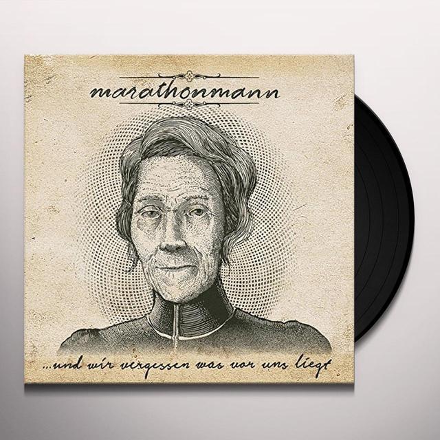 Marathonmann UND WIR VERGESSEN WAS Vinyl Record