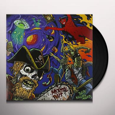 MENTAL BAIT THESE KILLING NIGHTS (GER) Vinyl Record