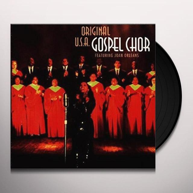ORIGINAL U.S.A. GOSPEL CHOIR Vinyl Record