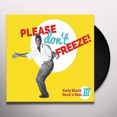 PLEASE DON'T FREEZE / VARIOUS (GER) Vinyl Record