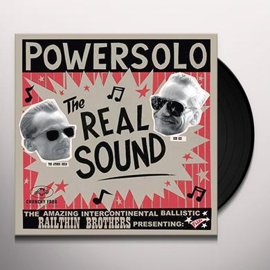 POWERSOLO REAL SOUND (GER) Vinyl Record