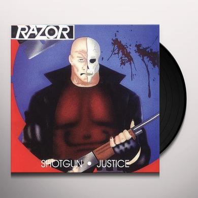 Razor SHOTGUN JUSTICE (GER) Vinyl Record