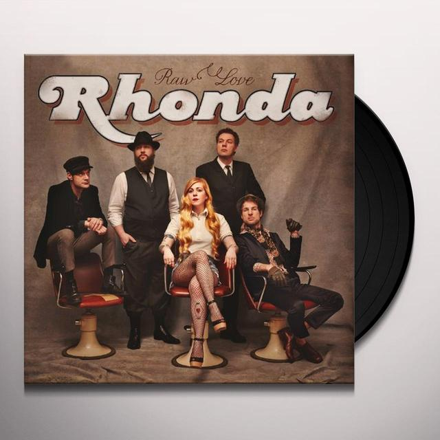 RHONDA RAW LOVE Vinyl Record