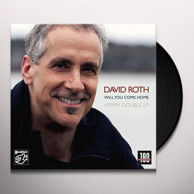 David Roth WILL YOU COME HOME Vinyl Record