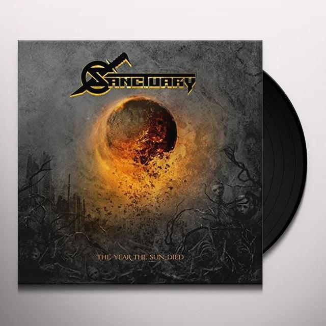 Sanctuary YEAR THE SUN DIED Vinyl Record