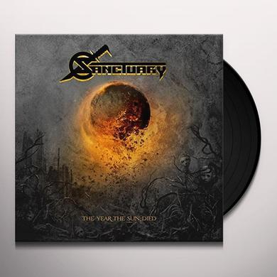 Sanctuary YEAR THE SUN DIED Vinyl Record - UK Import
