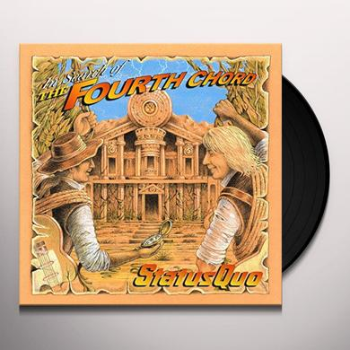Status Quo IN SEARCH OF THE FOURTH CORD Vinyl Record