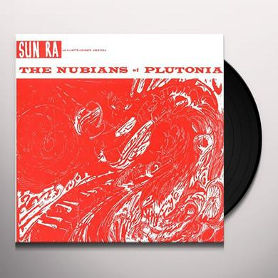 Sun Ra & His Solar Myth-Arkestra NUBIANS OF PLUTONI (GER) Vinyl Record