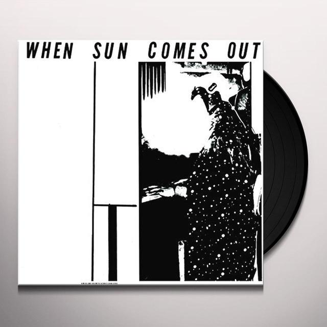 Sun Ra & His Solar Myth-Arkestra WHEN SUN COMES OUT (GER) Vinyl Record
