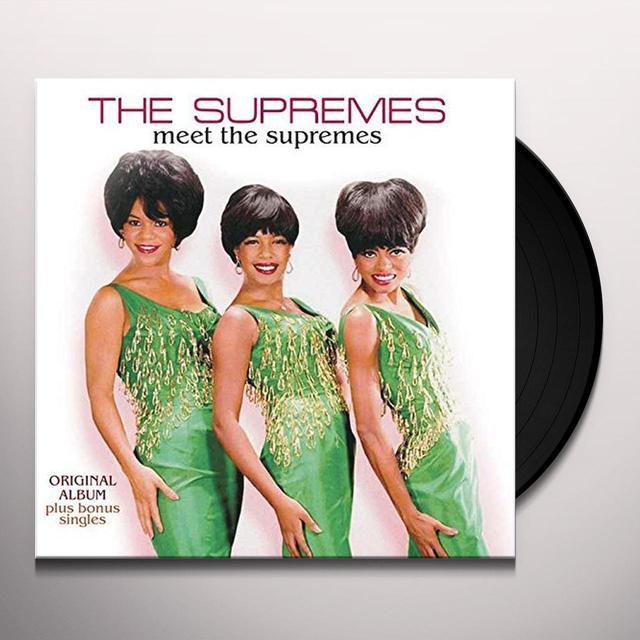MEET THE SUPREMES (GER) Vinyl Record