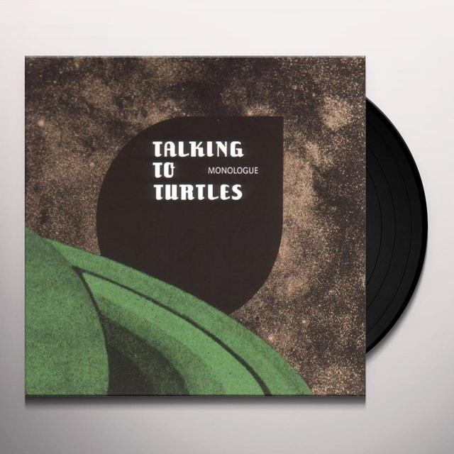 TALKING TO TURTLES MONOLOGUE (GER) Vinyl Record