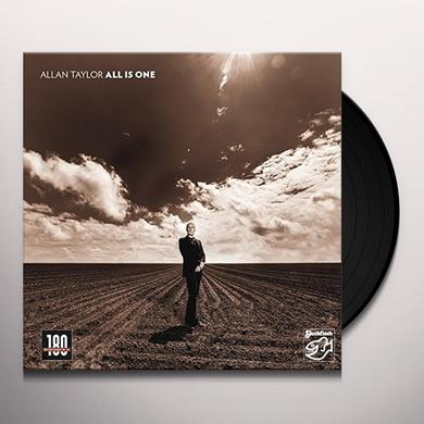 Allan Taylor ALL IS ONE Vinyl Record