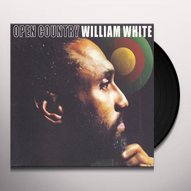 William White OPEN COUNTRY (GER) Vinyl Record