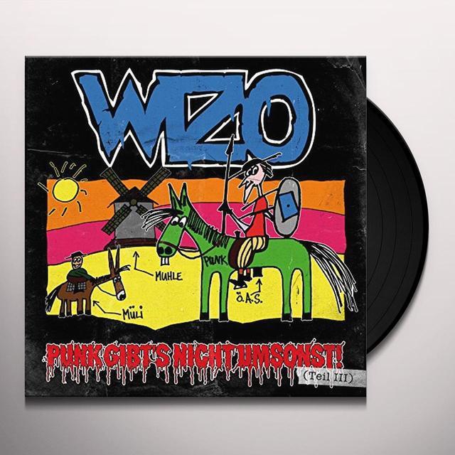 WIZO PUNK GIBT'S NICHT UMSO (GER) Vinyl Record