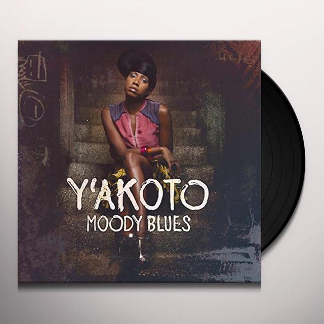 Y'Akoto MOODY BLUES (GER) Vinyl Record