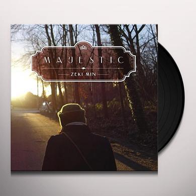 ZEKI MIN MAJESTIC (GER) Vinyl Record