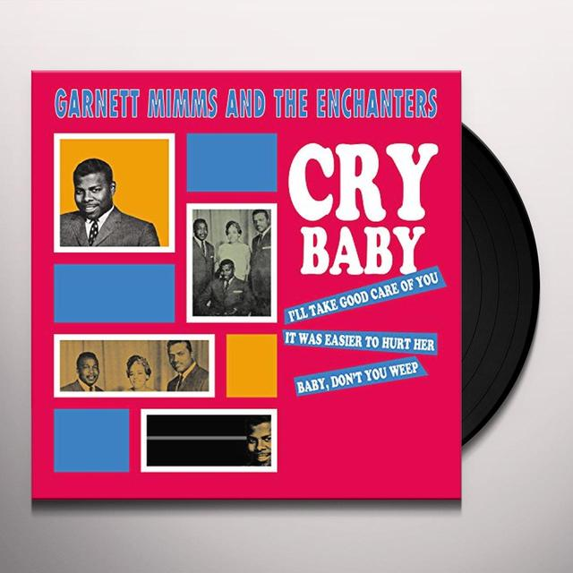 Garnett Mimms / The Enchanters CRY BABY-4 GREAT HITS! Vinyl Record - UK Import