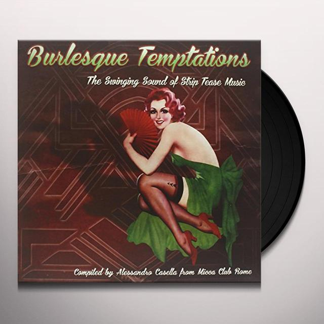 BURLESQUE TEMPTATIONS-THE SWINGING 1 / VARIOUS Vinyl Record