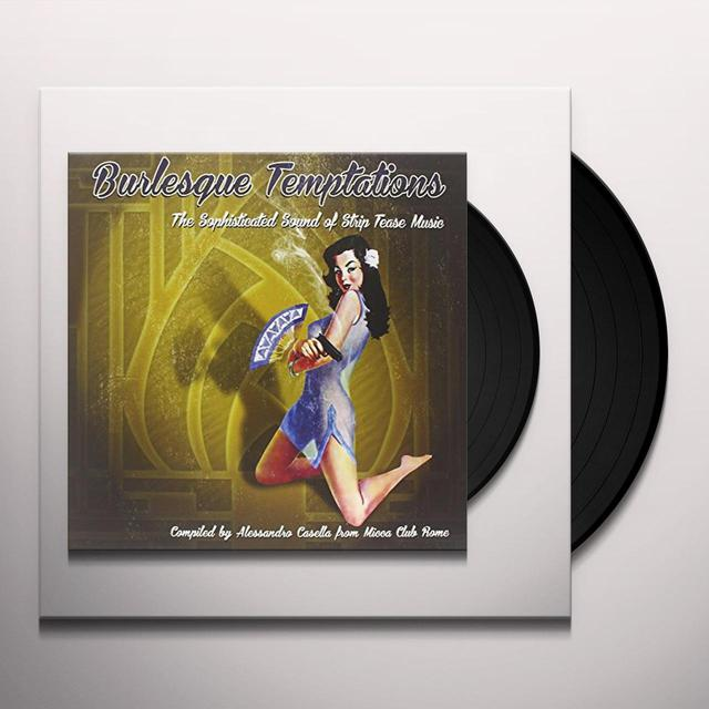 BURLESQUE TEMPTATIONS-THE SWINGING 3 / VARIOUS Vinyl Record