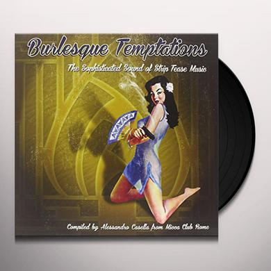 BURLESQUE TEMPTATIONS-THE SWINGING 3 / VARIOUS Vinyl Record
