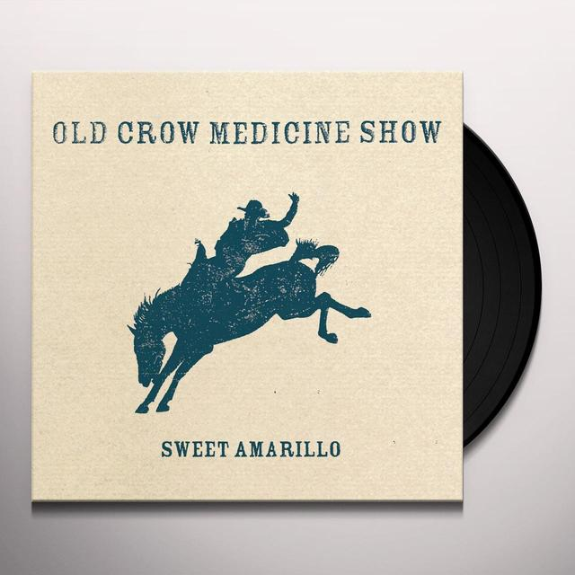 Old Crow Medicine Show SWEET AMARILLO Vinyl Record