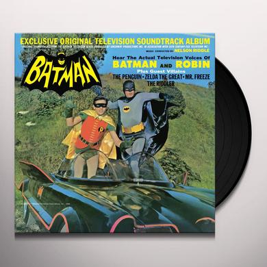 Nelson Riddle BATMAN - TV O.S.T. Vinyl Record