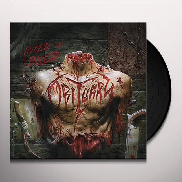 Obituary INKED IN BLOOD Vinyl Record