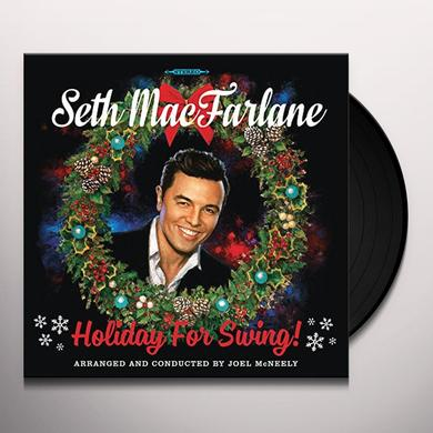 Seth MacFarlane HOLIDAY FOR SWING Vinyl Record