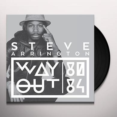 Steve Arrington WAY OUT (80-84) Vinyl Record
