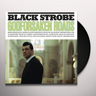 Black Strobe GODFORSAKEN ROADS Vinyl Record