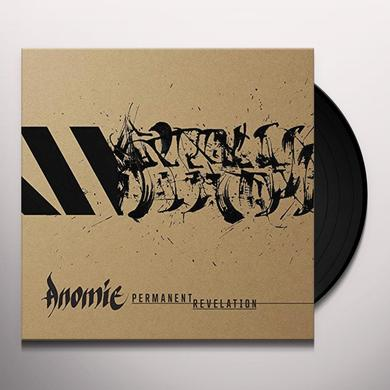 Anomie PERMANENT REVELATION Vinyl Record