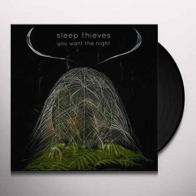 SLEEP THIEVES YOU WANT THE NIGHT Vinyl Record