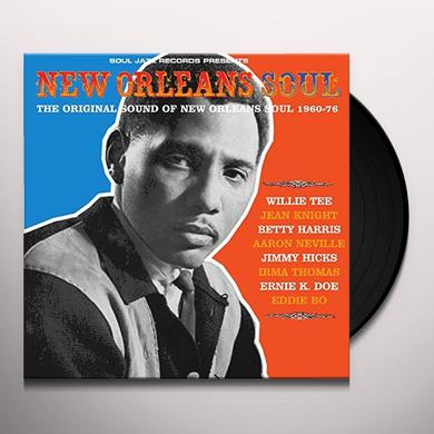 Soul Jazz Records Presents NEW ORLEANS SOUL: SOUND OF NEW ORLEANS 1960-76 Vinyl Record