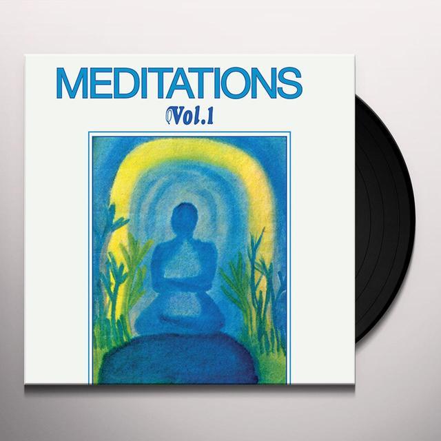Joel Vandroogenbroeck MEDITATIONS 1 Vinyl Record