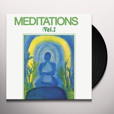 Joel Vandroogenbroeck MEDITATIONS 2 Vinyl Record