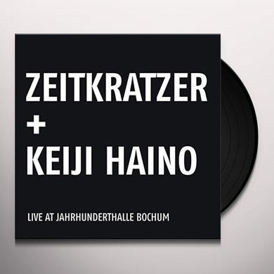 Zeitkratzer feat. Keiji Haino LIVE AT JAHRHUNDERTHALLE BOCHUM Vinyl Record