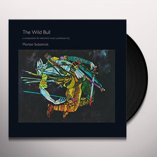 Morton Subotnick WILD BULL Vinyl Record
