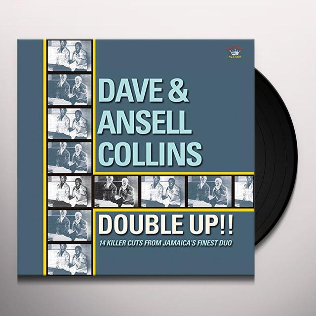 Dave Collins & Ansell DOUBLE UP: 14 KILLER CUTS FROM JAMAICA'S FINEST Vinyl Record